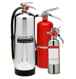 Wide Range of Fire Extinguishers