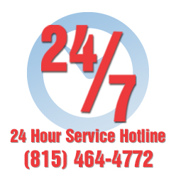 24 Hour Service Hotline (815) 464-4772